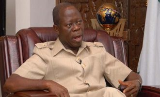 Oshiomhole: I don't want to be Obaseki's godfather… he is my brother