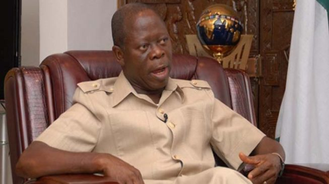 Oshiomhole: It's shameful that Obaseki can't follow Buhari's example