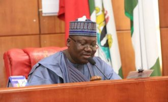 Lawan: With N750,000 monthly salary, my office needs proper funding