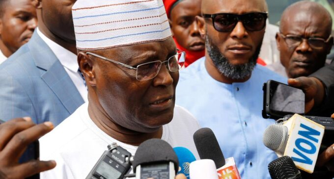 Atiku describes NBC code as a 'naked attempt' to gag the media