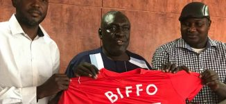 Biffo resigns as Katsina United head coach — five months before contract expiry