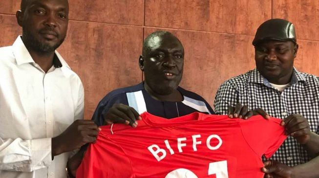 Biffo resigns as Katsina United head coach — five months before contract expires