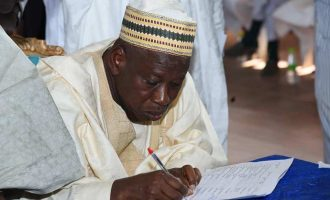 EXTRA: Ganduje appoints three special assistants on streetlights