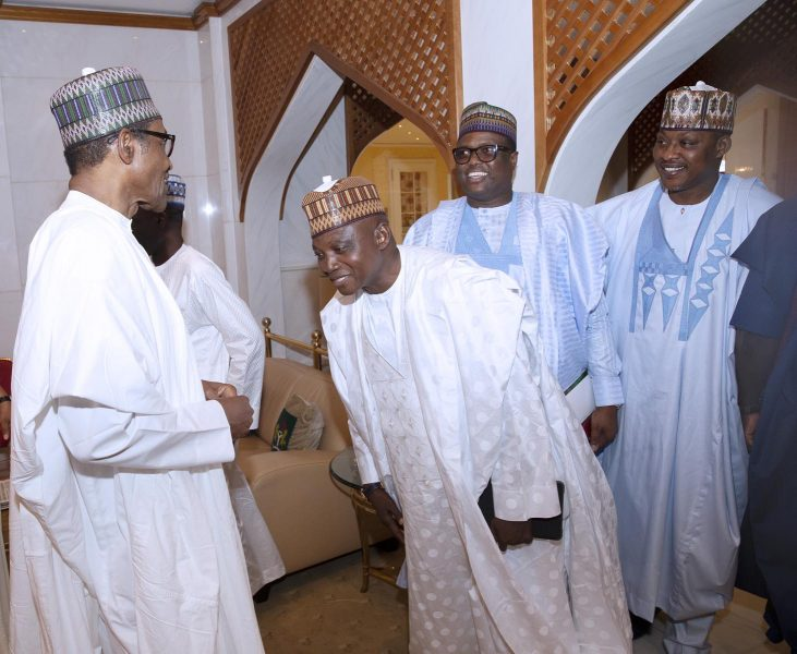 Has Buhari Reappointed Garba Shehu?