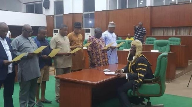 Edo APC crisis worsens as assembly declares seats of 12 lawmakers-elect vacant