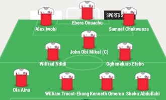 AFCON: Ighalo, Musa missing as Rohr lists Eagles XI to face Burundi
