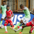 Action images from Eagles' opener with Burundi