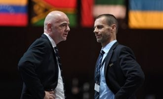 ICYMI: Ceferin accuses Infantino of plot to take over African football