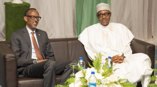 Kagame to Buhari: It's not enough to fight corruption… we have to create wealth
