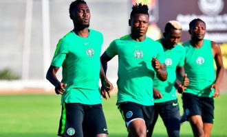AFCON 2019: Kalu, who collapsed in training, 'now fit to play Guinea'