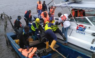 Two dead, 18 missing as boat capsizes in Lagos