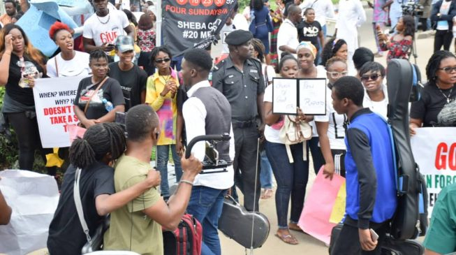VIDEO: COZA members booed after Sunday service
