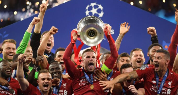 Liverpool conquers Europe as Salah, Mane set new record