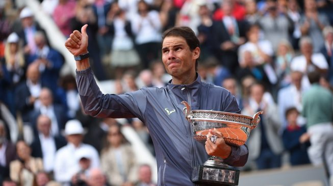 All hail the king of clay as Nadal wins 12th French Open title