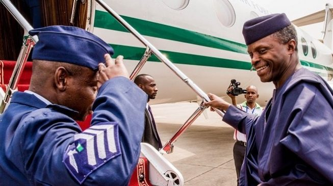 Osinbajo off to UK for son's graduation