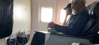 Outrage as aircraft passenger asks Wole Soyinka to vacate his seat