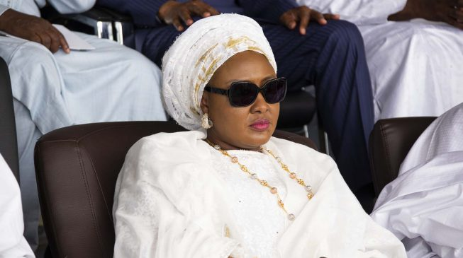 FAKE VIDEO ALERT: Aisha Buhari NOT locked up in Aso Rock by 'cabal'