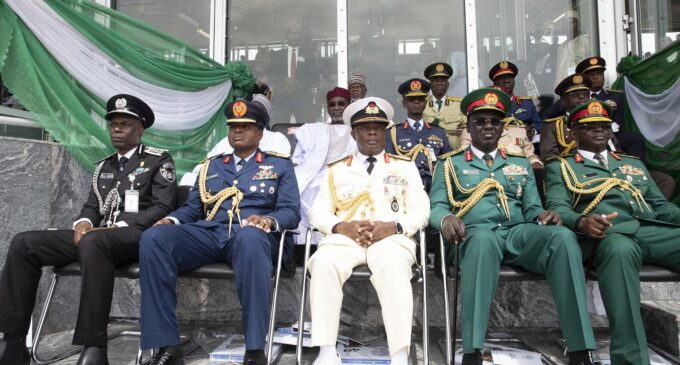 Service chiefs, the national assembly and public decorum