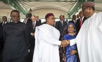 PHOTOS: Buhari hosts African leaders on Democracy Day