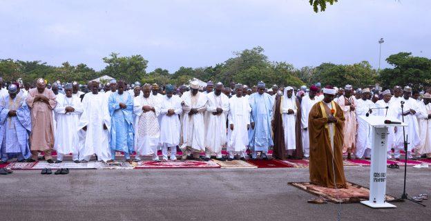 Eid celebrations across the world