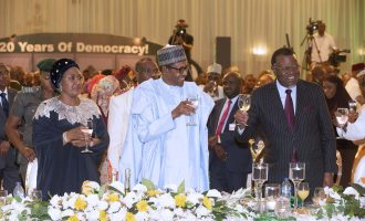 PHOTOS: Buhari dines with African leaders to celebrate Democracy Day