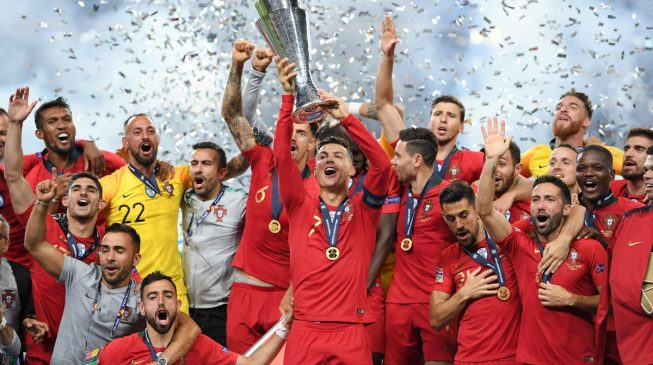 Ronaldo's Portugal defeat Netherland to win maiden UEFA Nations League