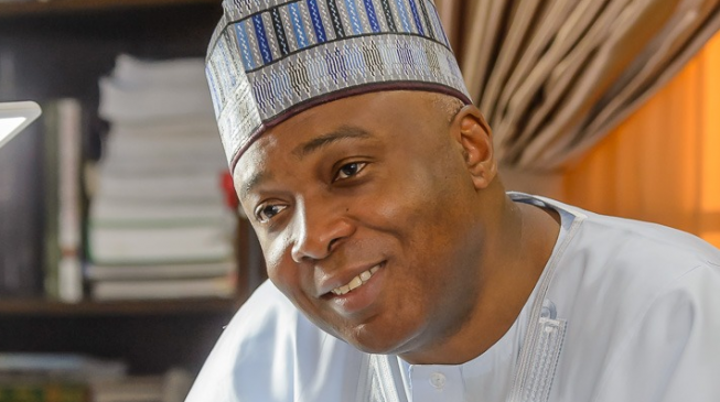 Saraki: It's clear Ndume or Lawan will succeed me