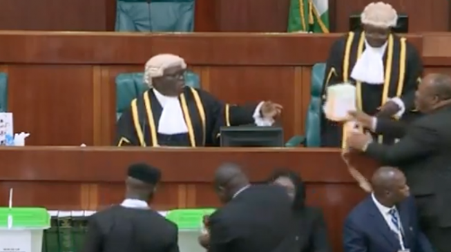 How it went: Election of national assembly's presiding officers