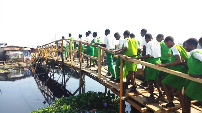 Changing the world with a simple foot bridge