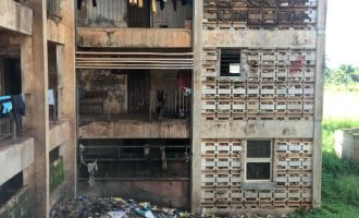 PHOTOS: The decayed infrastructure serving as UNN hostels
