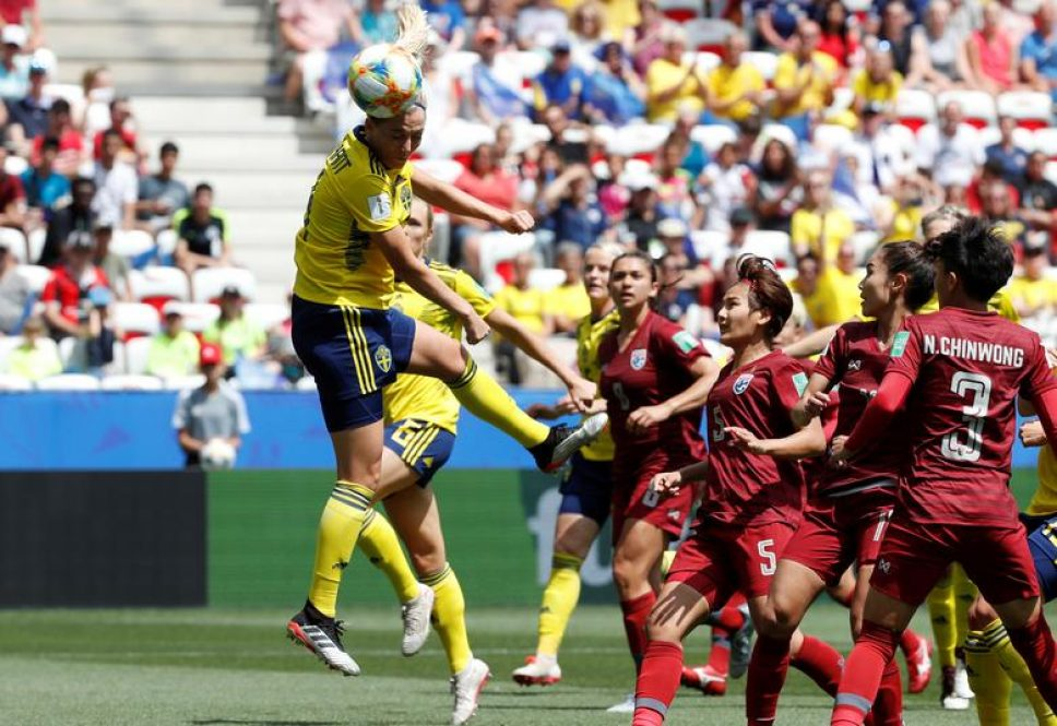 Day 10: Action images from Women's World Cup