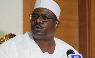 Nigeria is at war, says Ali Ndume