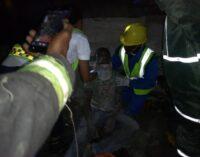 Twelve injured as another building collapses in Lagos
