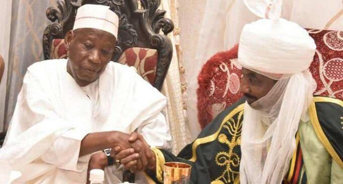 Dangote brokers peace between Sanusi, Ganduje