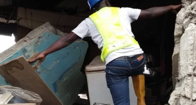 Eight injured as another building collapses in Lagos