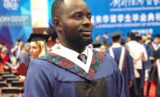 Nigerian emerges most outstanding student in Chinese varsity