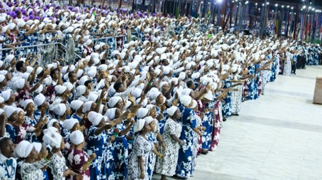 The charged atmosphere at RCCG Holy Ghost services