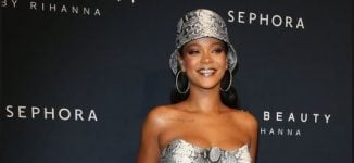 Rihanna topples Elton John, Ed Sheeran on UK music rich list