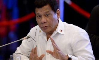 Philippines president reveals how he 'cured' himself of homosexuality