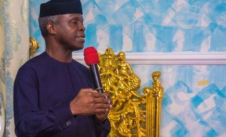 Osinbajo: The media will always be a friend of this government