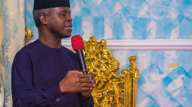 We've invested N900bn on power since 2015 - Osinbajo