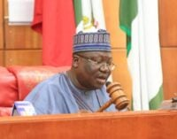 Lawan: Screening of Buhari's EFCC chairman nominee will be done in the open