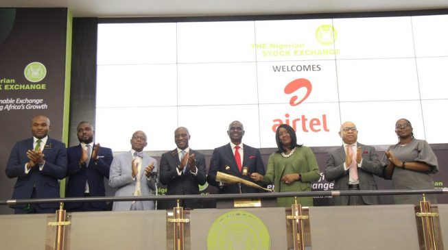 Airtel Africa lists 3.7bn shares on NSE, adds N1.3trn to market cap