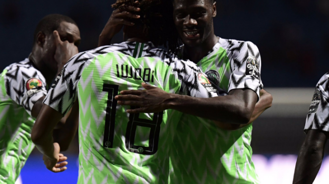 VIDEO: The Iwobi's goal that sent Nigeria into quarterfinals