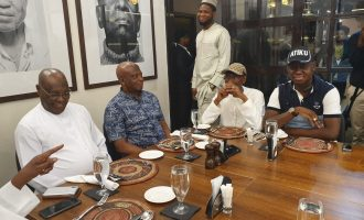 PHOTOS: Atiku cools off in Dubai