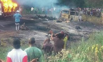 ICYMI: Many killed as tanker explodes in Benue