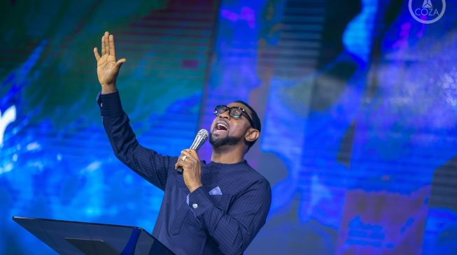 COZA Pastor, Fatoyinbo returns to the pulpit one month after stepping aside over rape allegation