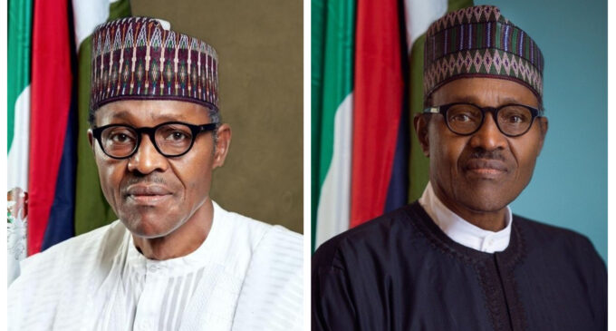 Like Jonathan, Buhari has a new official portrait that will cost taxpayers millions