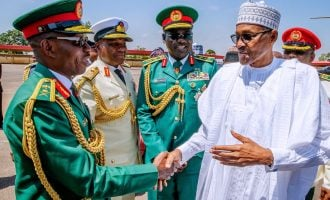 Buhari promotes Lamidi Adeosun to Lt Gen — same rank with Buratai