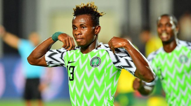 Chukwueze, Ekong fly Super Eagles to AFCON semifinals
